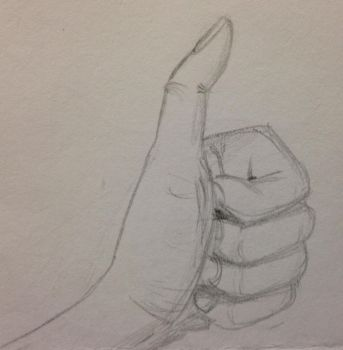 Thumbs-up by Astorialis