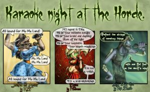 Wow Warcraft Karaoke Night 01 by MrsCorax