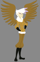 Humanized Gilda by AliasForRent