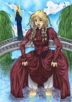 Fjording is much more difficult in Victorian Garb by kchuu