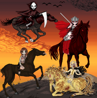 The Four Horseman by Cherieosaurus