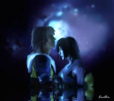 Tidus and Yuna by EWeller2013