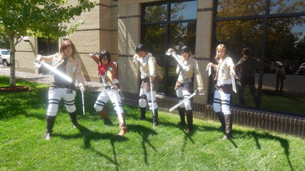 NDK 2013 Attack on Titan by Zombie-loves-Fur