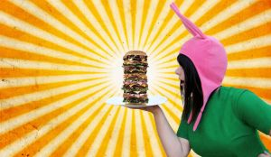 Louise's Burger! by Emma-in-candyland