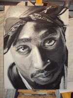 Tupac by MitchellSchuurman