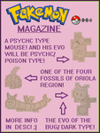 Fakemon Magazine #004 by DarmanInigo