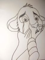 the lion king by DrawingIsPassion123