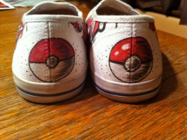 Pokemon Back of Shoes by crummywater