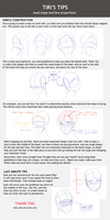 Head and face structure tutorial by Tiribrush