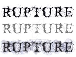 Rupture Typeface by AndouHayate