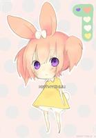 Adopts 3: pink bunny SOLD by kobake