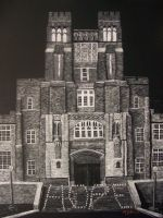 Burruss Hall FINAL: Relay for Life Fundraiser by whitekratoswolf