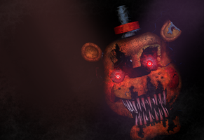 Commission  - NightMare ToyFreddy by Christian2099