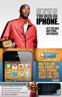 NBA League Pass iPhone Sell Sheet by witnessGFX