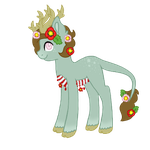 Flowercage Pony Custom 2 by LordoftheFuzzys