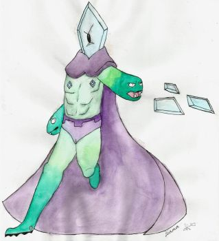 The Icy Brute - Rhombulus by LianaTheFangirl