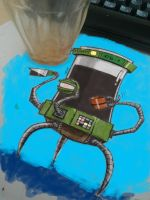 Coffeebot v1 painted by riverta