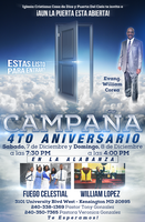 Church 4th Anniversary Flyer by Crazed-Artist