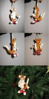 Tails Ornament by I-Am-Imaginary