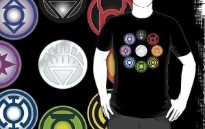 Blackest Night TeeShirt by Mutant-Cactus