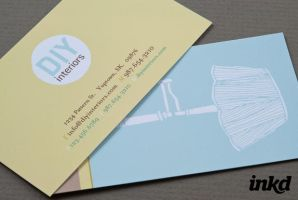 Do-It-Yourself Business Card by inkddesign