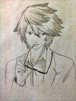 cool anime guy 3rd generation by xinje