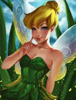 Tinker Bell by hinatabest