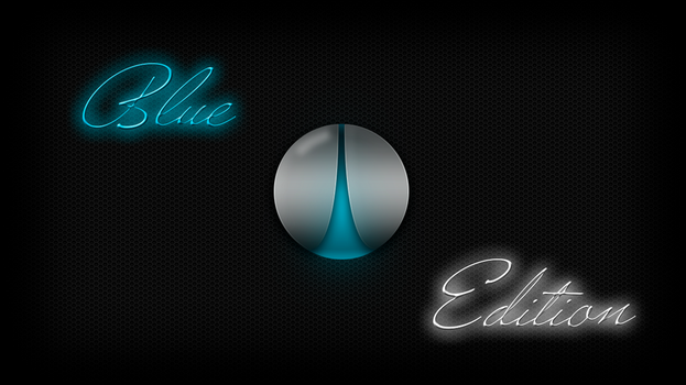 Wallpaper Blue Edition by WebMazterHacker