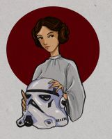 Princess Leia by Ratgirlstudios