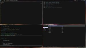 Archlinux - Awesome by dodelria