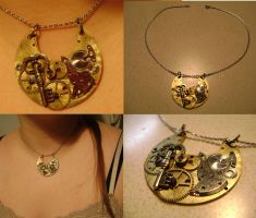 Steampunk Pendant by Goagleon