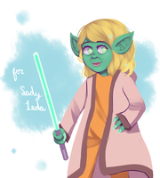 Lady Yoda by Pearly-A