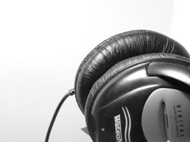 dust on the headphones by Appaler