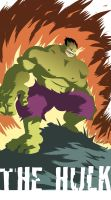 Hulk quickie by NunoPlati