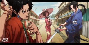 Samurai Champloo days by Brolo