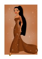Pocahontas Designer Dress by valloria