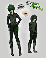 Young Justice - GreenMamba by Primeval-Wings