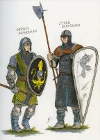 SOIAF bannermen sketches I by Tribemun