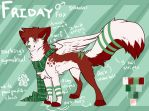 Friday Reference Sheet by coffaefox