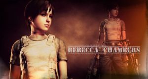 Resident Evil TM 3D - Rebecca Chambers -Wallpaper by BetthinaRedfield