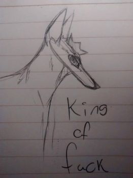 The King by Fading-Secret