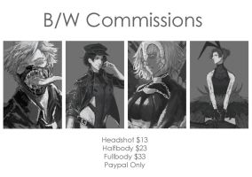 COMMISSION OPEN!! by levygraph