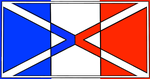 French tribute flag by OddGarfield