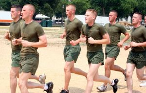 Marines, running by dpt56