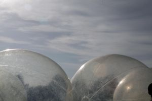 Globes and Sky by foreyesrevuk