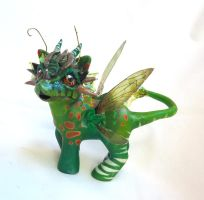 My little pony custom Little snake by AmbarJulieta
