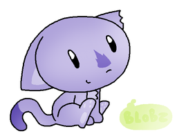Blob pet example by jkcafe