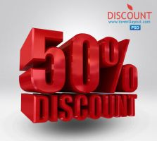 50% Discount PSD by atifarshad