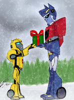 Merry Christmas Sir by TaintedTamer