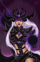 Syndra - The Dark Sovereign by Tinnu